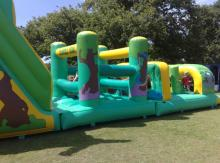 Bounce away on a bouncing castle
